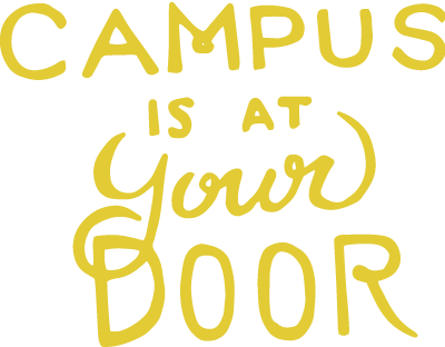 Campus is at Your Door